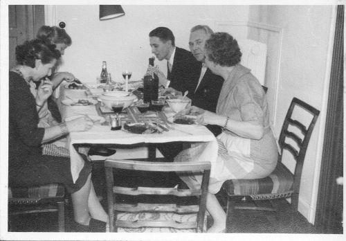 Ebba, hersister and husband, Aase, Torben