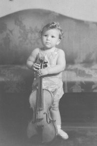 Karl with fiddle
