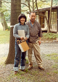 George and Mira Nakashima 1982