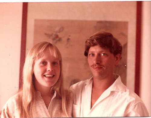 Gregor and Josefin in California