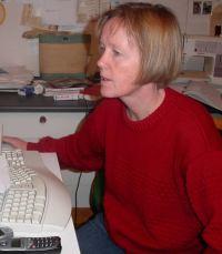Josefin w computer