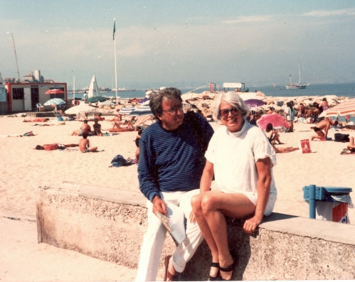 Martha and Karl - Antibes