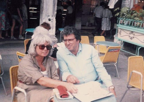 Karl and Martha in Venice