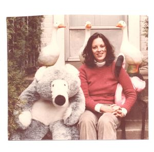 Sally with bear