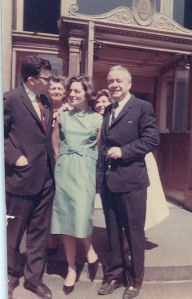 Wedding, NY 1964 Bob&Elsa Lillian